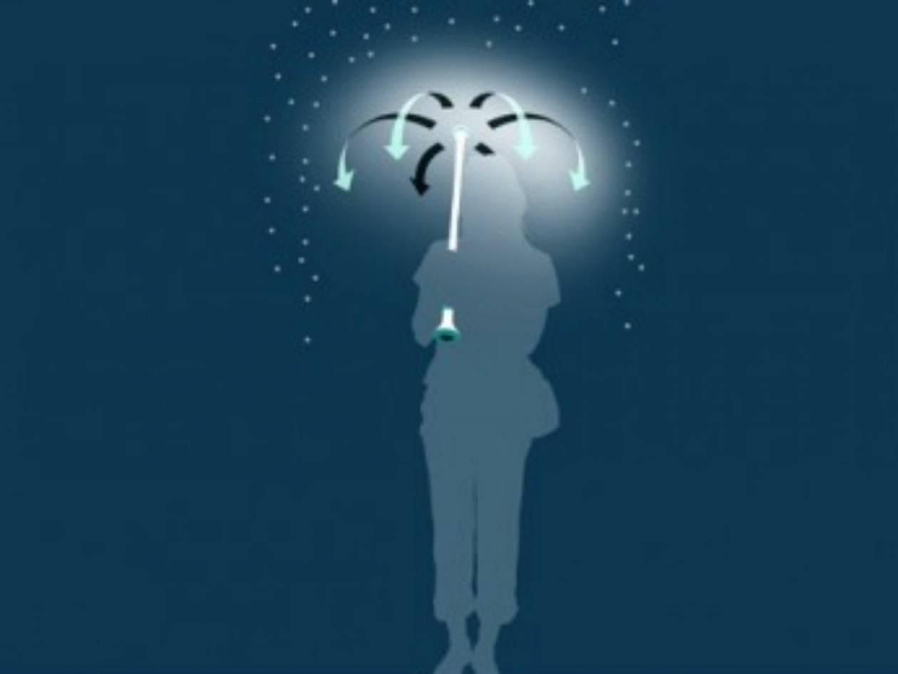 Απίστευτο: Η ομπρέλα του μέλλοντος είναι αόρατη (pic)