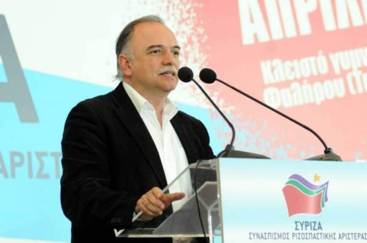 Δ. Παπαδημούλης: Μεγάλο βήμα ο μετασχηματισμός του ΣΥΡΙΖΑ