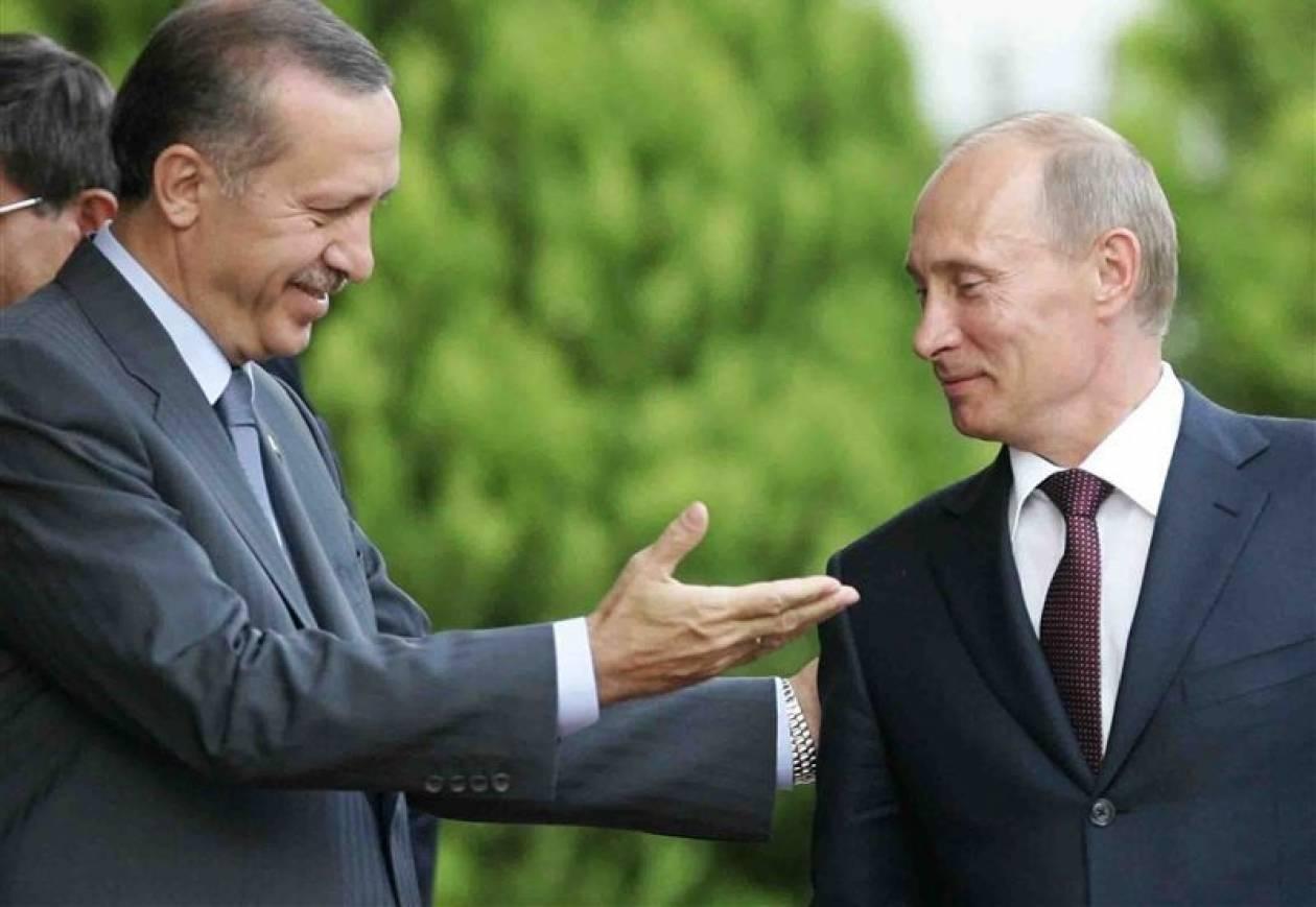 Ο Πούτιν έφτασε στην Κωνσταντινούπολη