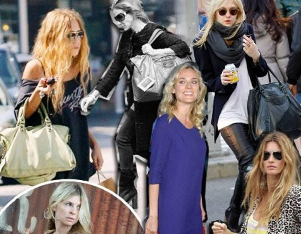 Balenciaga τσάντες & celebrities: Σχέση που μετρά μια 10ετία