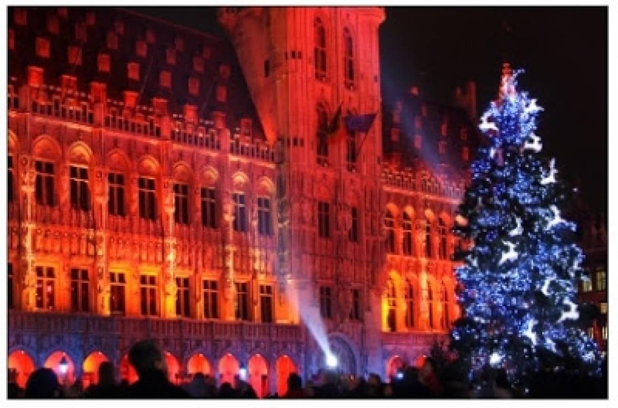 Χωρίς χριστουγεννιάτικο δέντρο οι Βρυξέλλες λόγω Μουσουλμάνων