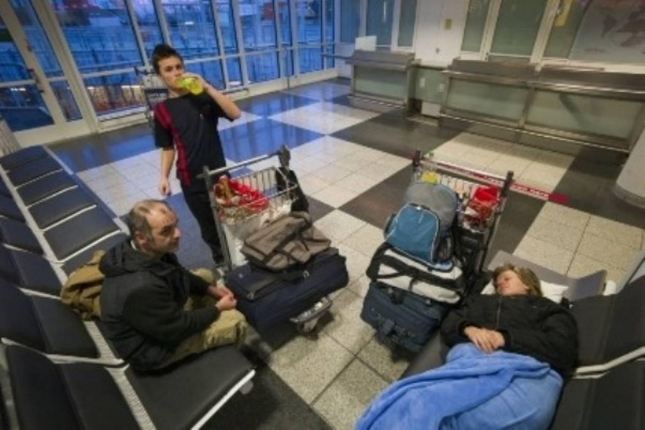 Ο Έλληνας...Τομ Χανκς στο αεροδρόμιο του Μονάχου