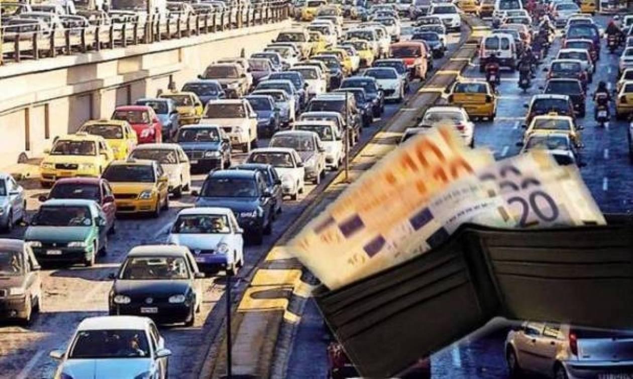 Τα έσοδα των τελών κυκλοφορίας από το 2008, έφερε στη Βουλή ο Υπ.Οικ.