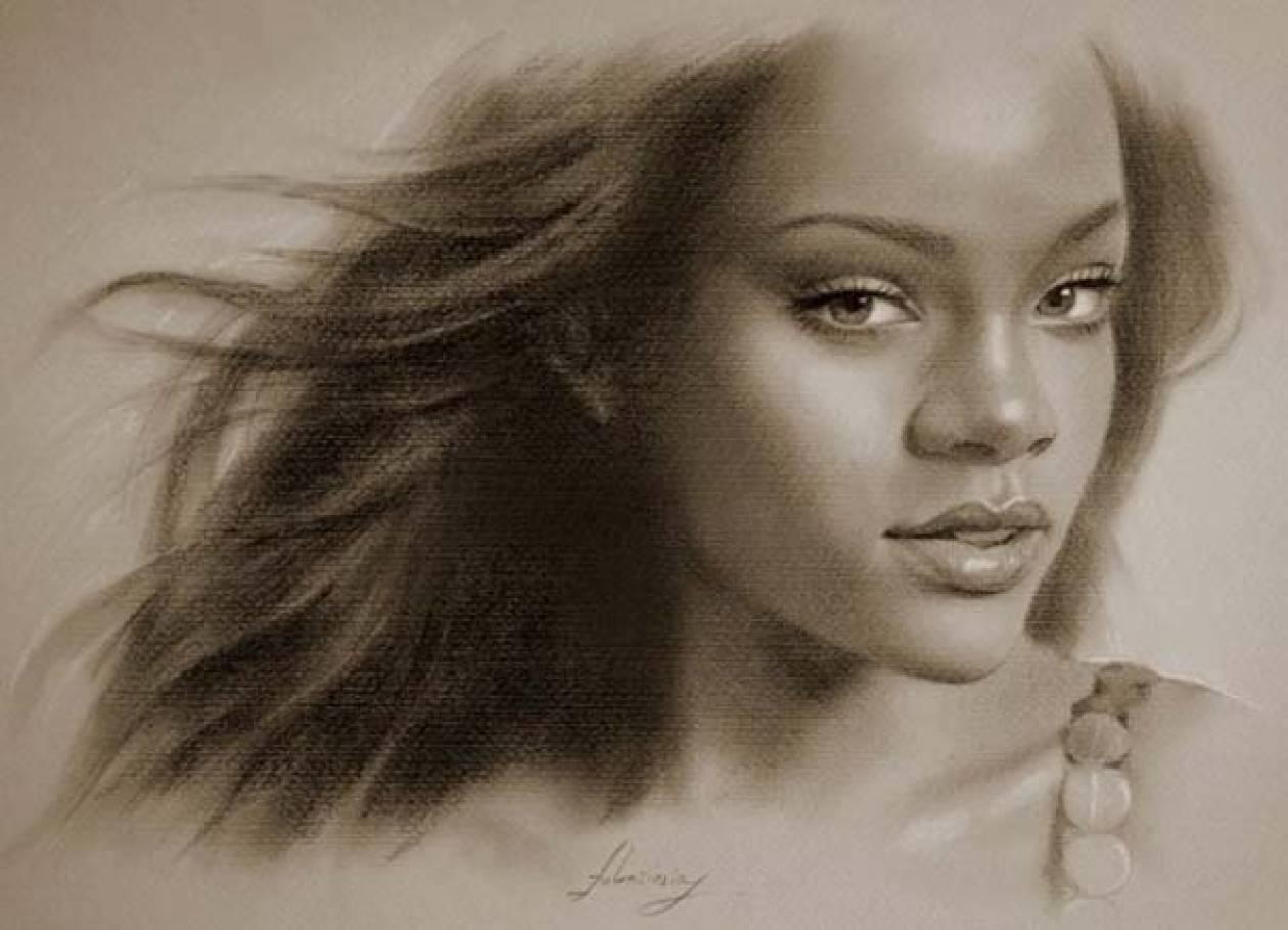 Εκπληκτικά πορτραίτα διασήμων με μολύβι (pics)