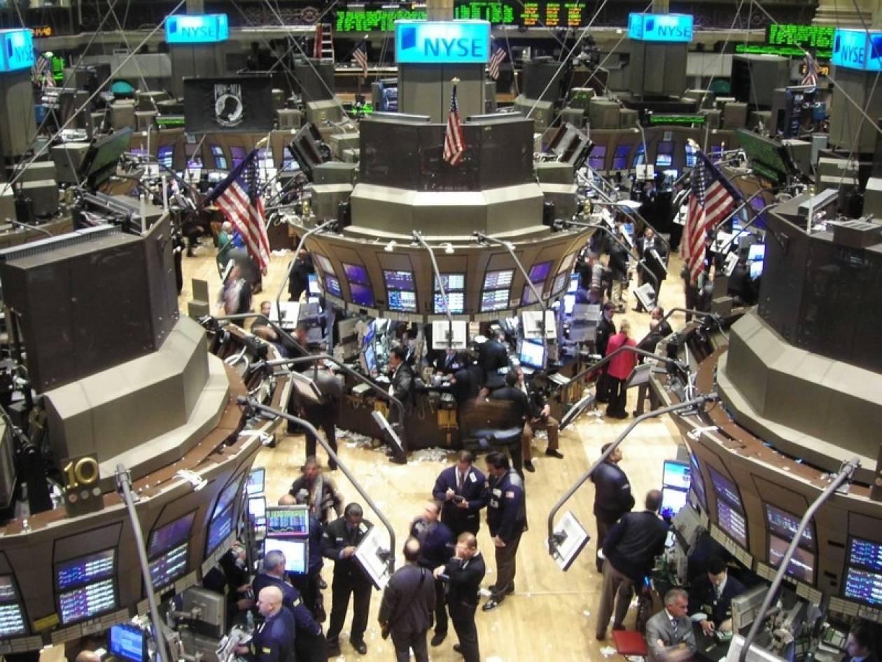 Απώλειες σημείωσε η Wall Street