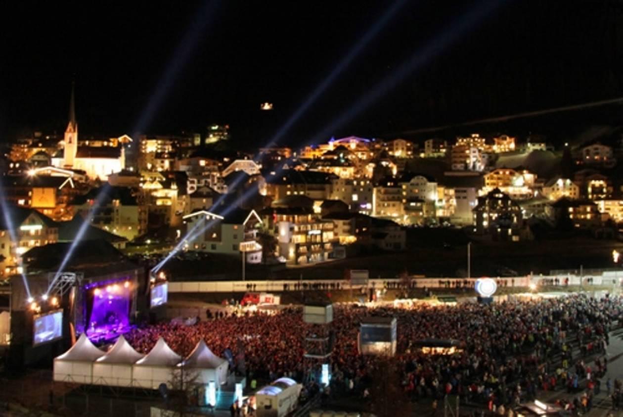 Αυστρία: Συναυλία στα χιόνια έδωσαν οι Scorpions