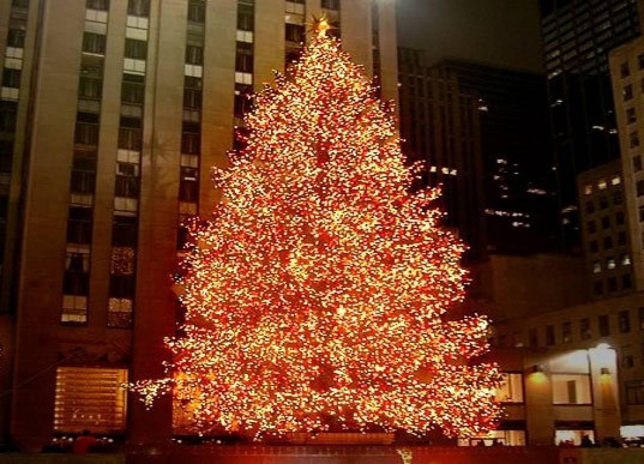 Μετά το Βέλγιο και στις ΗΠΑ θέμα με το χριστουγεννιάτικο δένδρο