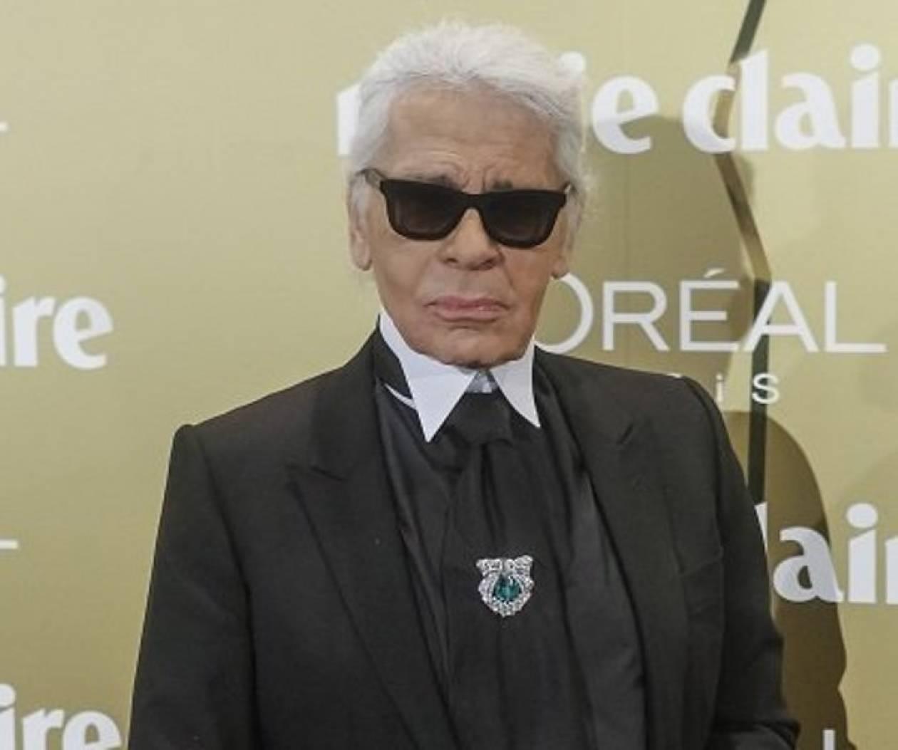 O Karl Lagerfeld συνεργάζεται με τα «λαστιχένια» παπούτσια