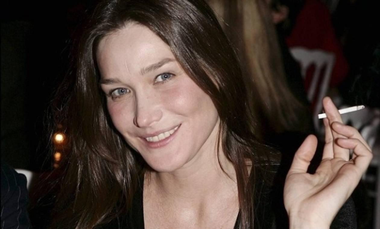Carla Bruni: Τι ... λιγουρευόταν στη διάρκεια της εγκυμοσύνης της