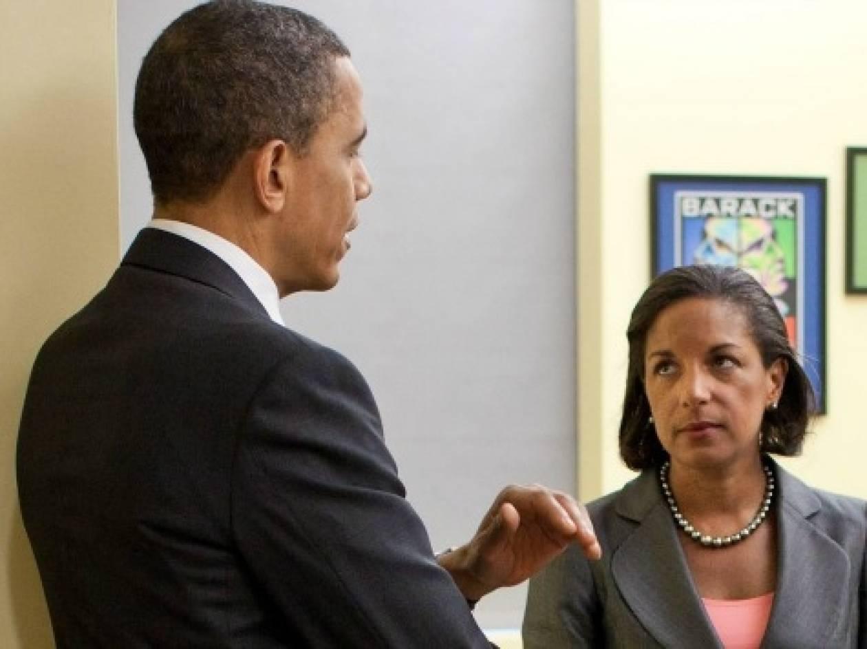 Ομπάμα: Eπαινεί την Ράις, αλλά δεν έχει αποφασίσει τον νέο ΥΠΕΞ