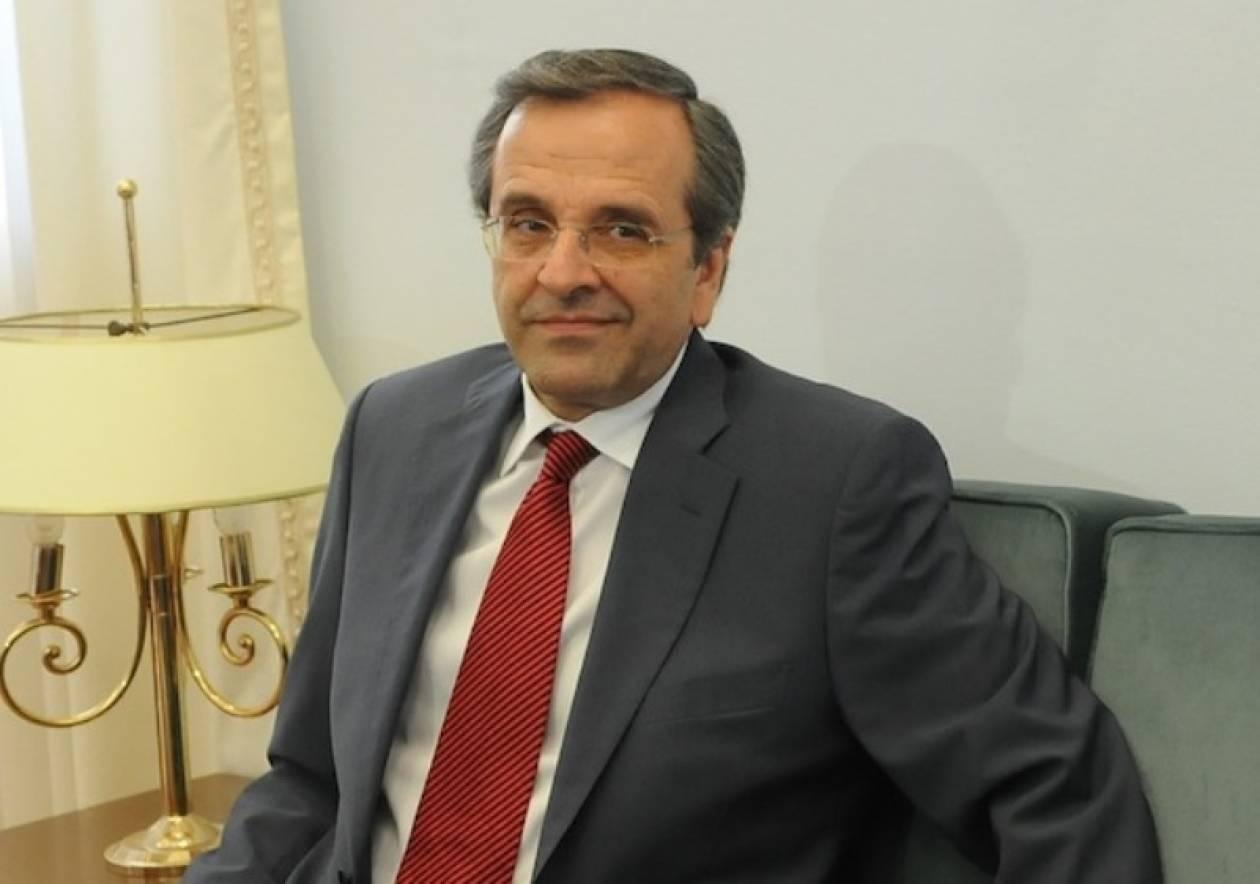 Συνάντηση Σαμαρά με τον υποψήφιο του ΑΚΕΛ