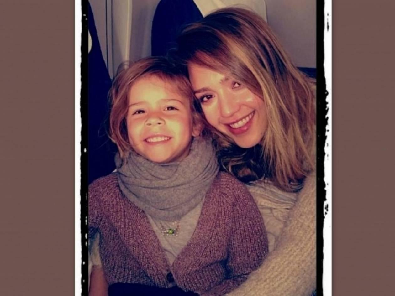 Η καταπληκτική ομοιότητα της Jessica Alba με την κόρη της!