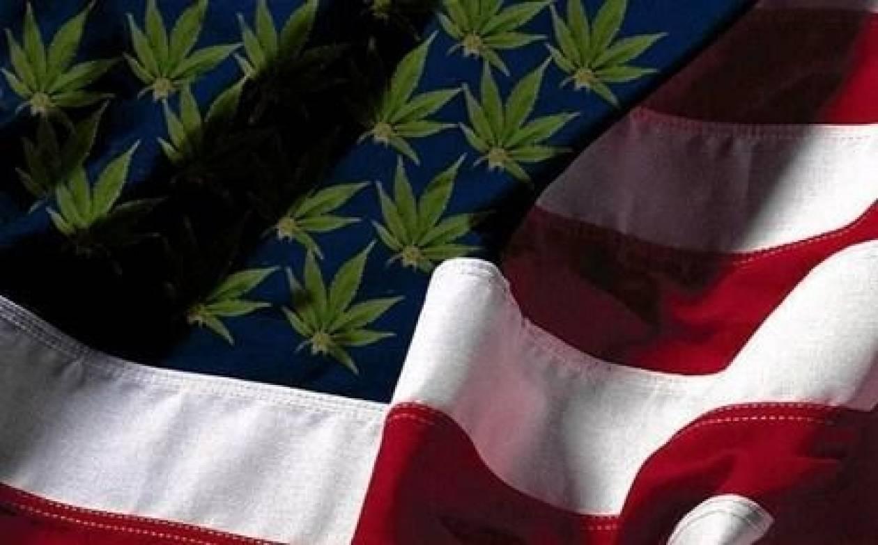 Ένας στους δυο Αμερικανούς θέλει τη μαριχουάνα νόμιμη