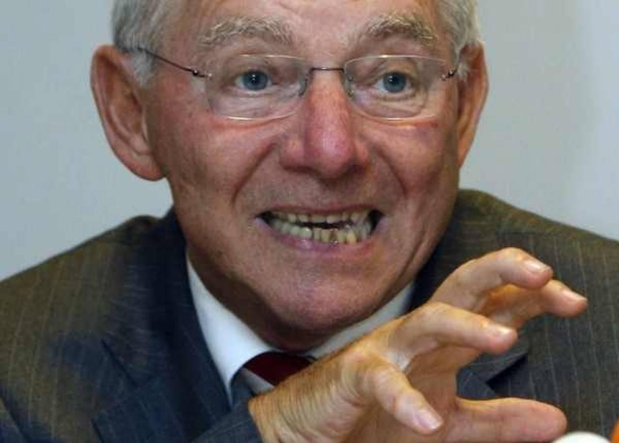 Σόιμπλε «φωτογραφίζει» το Βερολίνο για νέο Πρόεδρο του Eurogroup