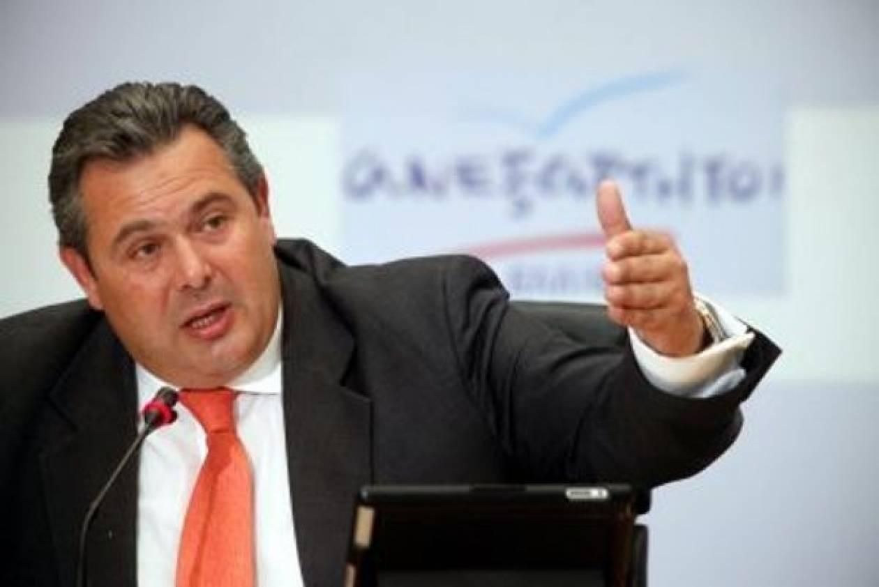 Καμμένος:Να μην παραδοθεί ο ορυκτός πλούτος-Τώρα η εθνική αντιπρόταση