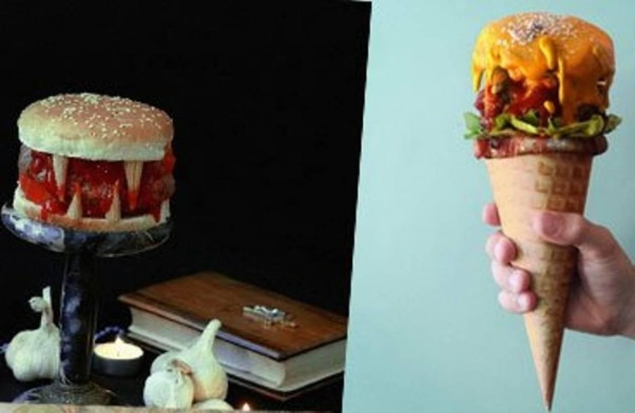 Tα πιο παράξενα burgers του κόσμου!