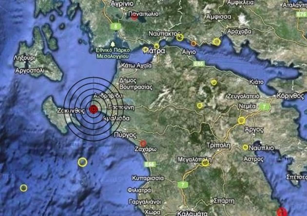 Σεισμός 3,1 Ρίχτερ στη δυτική Πελοπόννησο