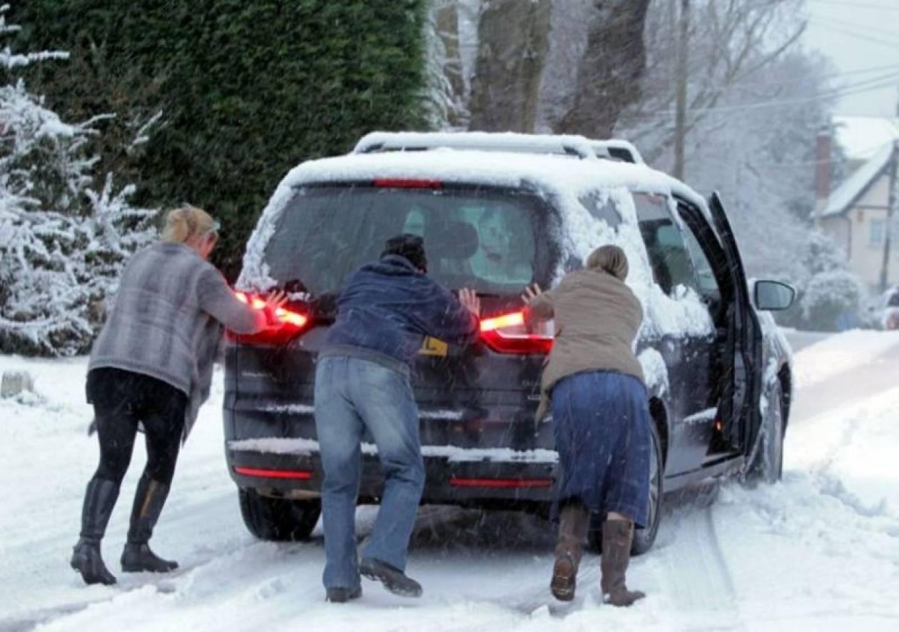 Χάος στη Βρετανία με 1,5 εκ. χιόνι!