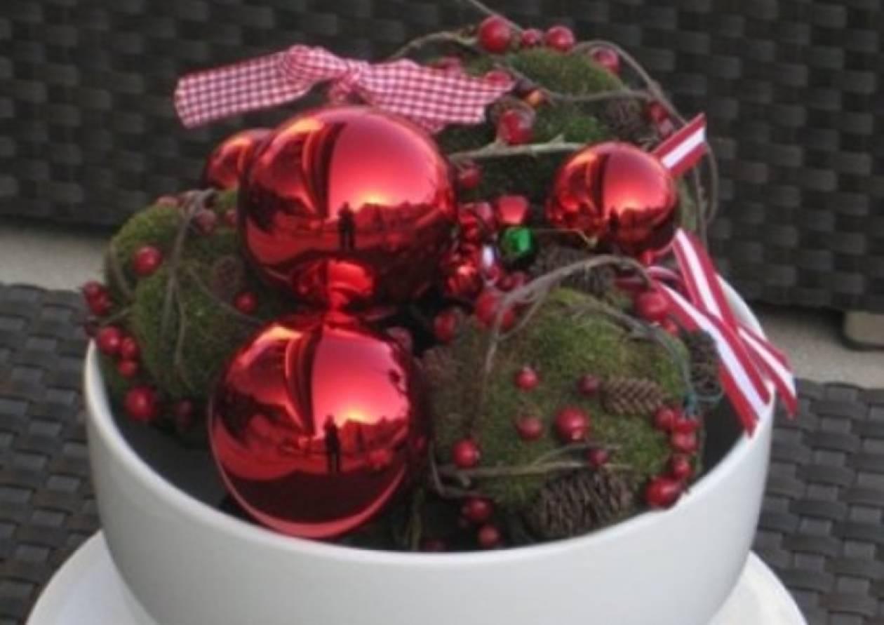 Tips για έξυπνο και οικονομικό χριστουγεννιάτικο στολισμό!