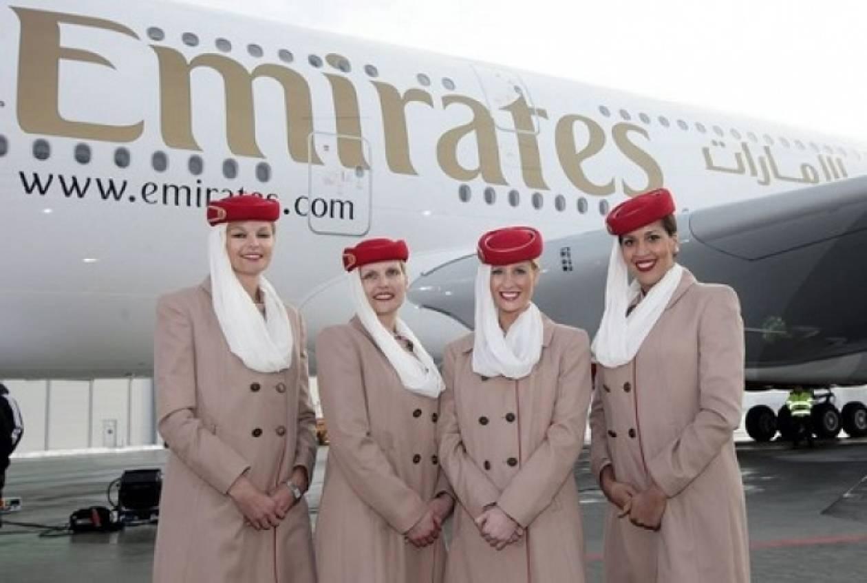 H «Εmirates» η αεροπορική εταιρεία της χρονιάς