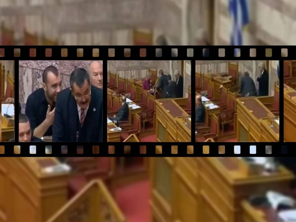 Βίντεο: Δείτε την τούμπα του υπουργού Τσαυτάρη στη Βουλή