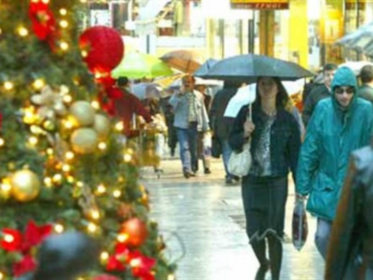 Δύο Κυριακές φέτος τις γιορτές ανοιχτά τα καταστήματα