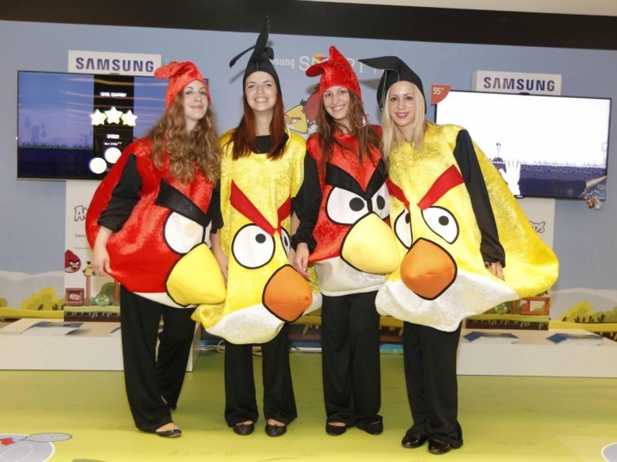Πανελλήνιο Πρωτάθλημα Angry Birds από τη Samsung Smart TV