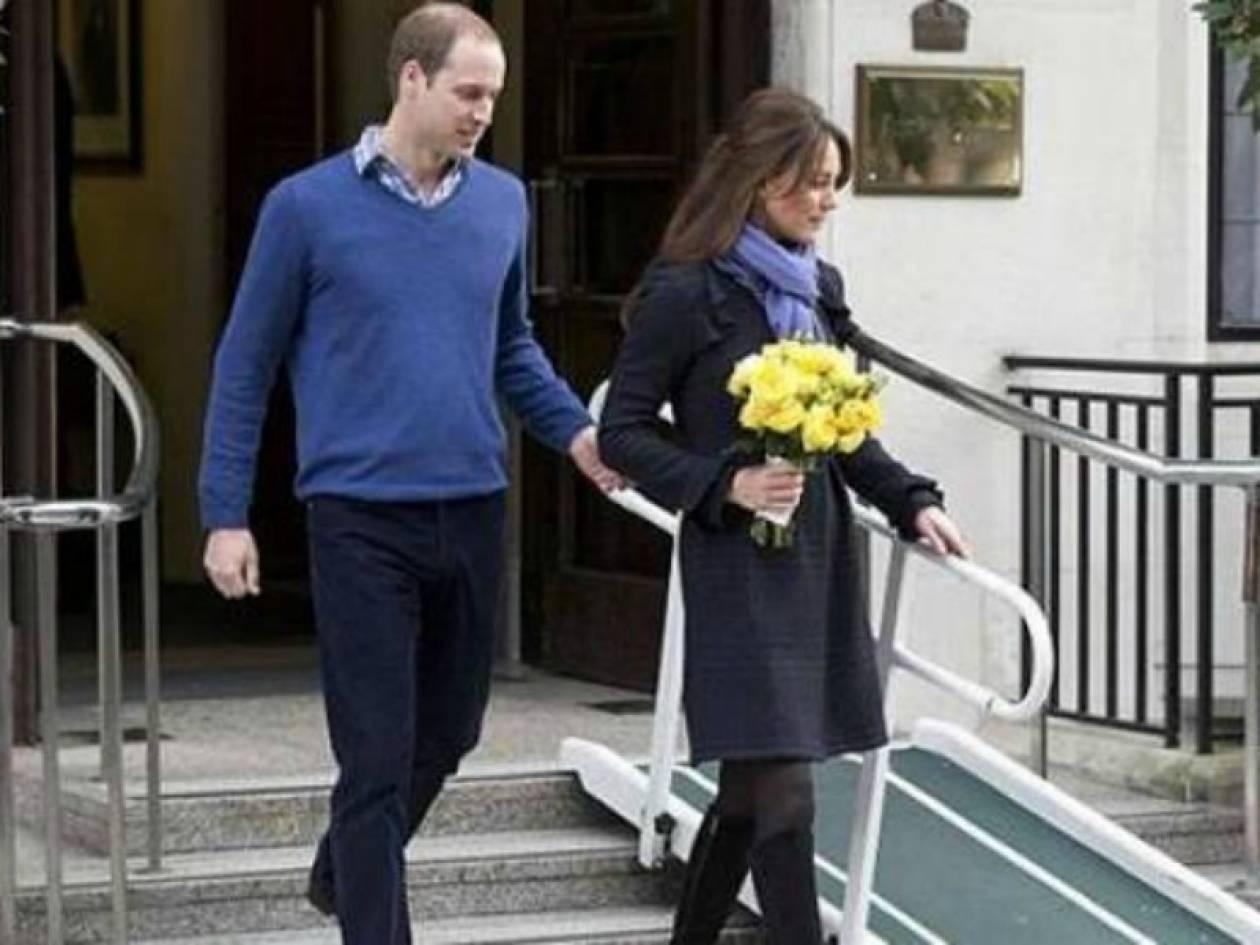 Πήρε εξιτήριο η Kate Middleton! Τα πρώτα σημάδια της εγκυμοσύνης της!