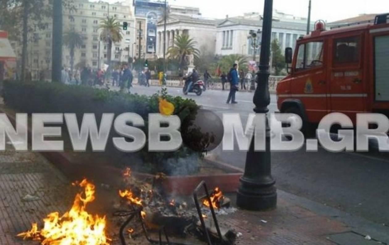 Επεισόδια στην Αθήνα: 19 προσαγωγές και τρεις συλλήψεις
