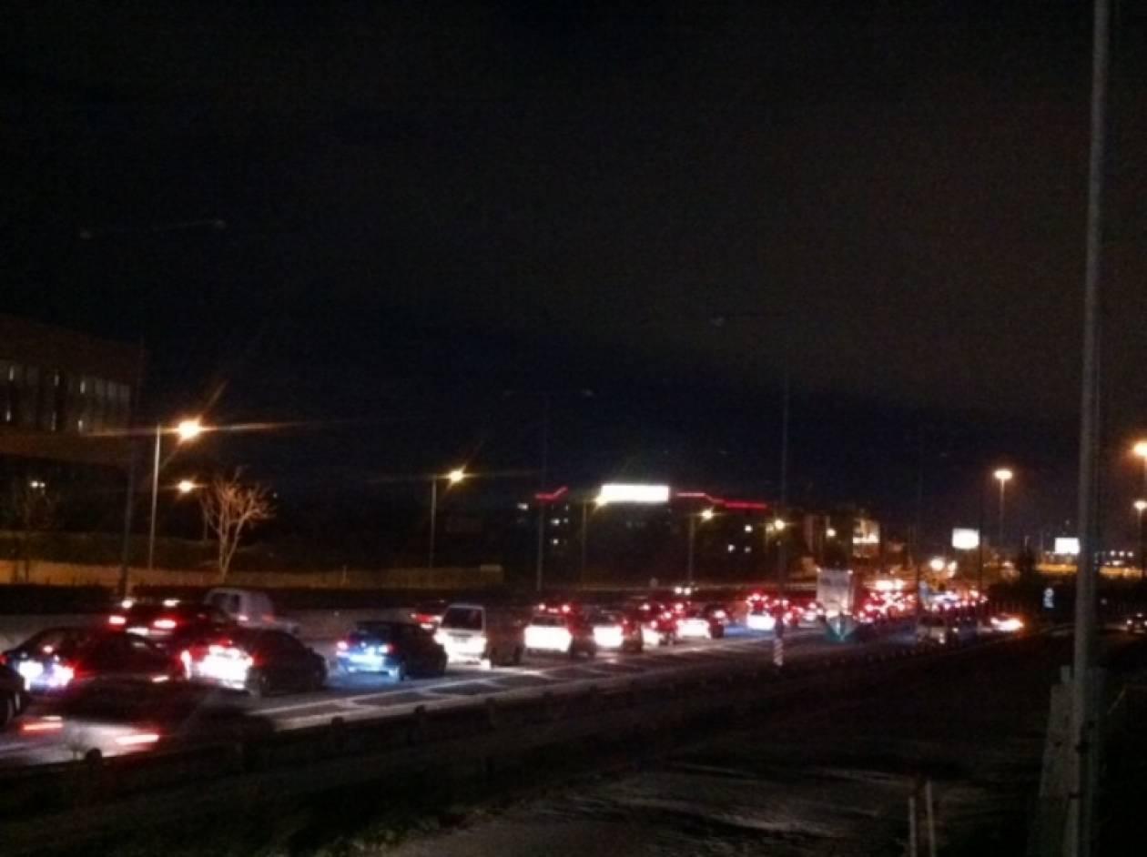 ΣΥΜΒΑΙΝΕΙ ΤΩΡΑ: Κυκλοφοριακό έμφραγμα στην εθνική οδό Αθηνών – Λαμίας