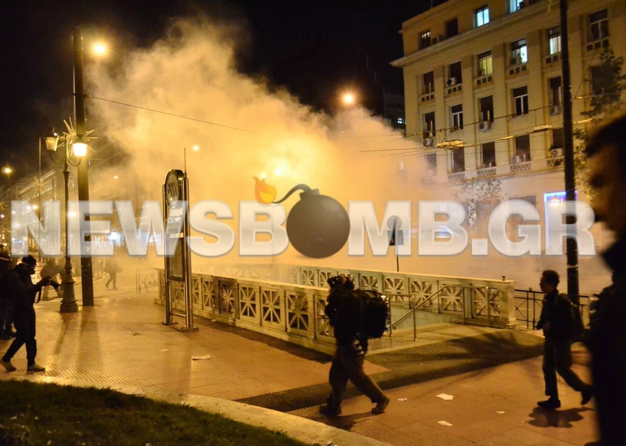 ΤΩΡΑ: Επεισόδια στο κέντρο της Αθήνας