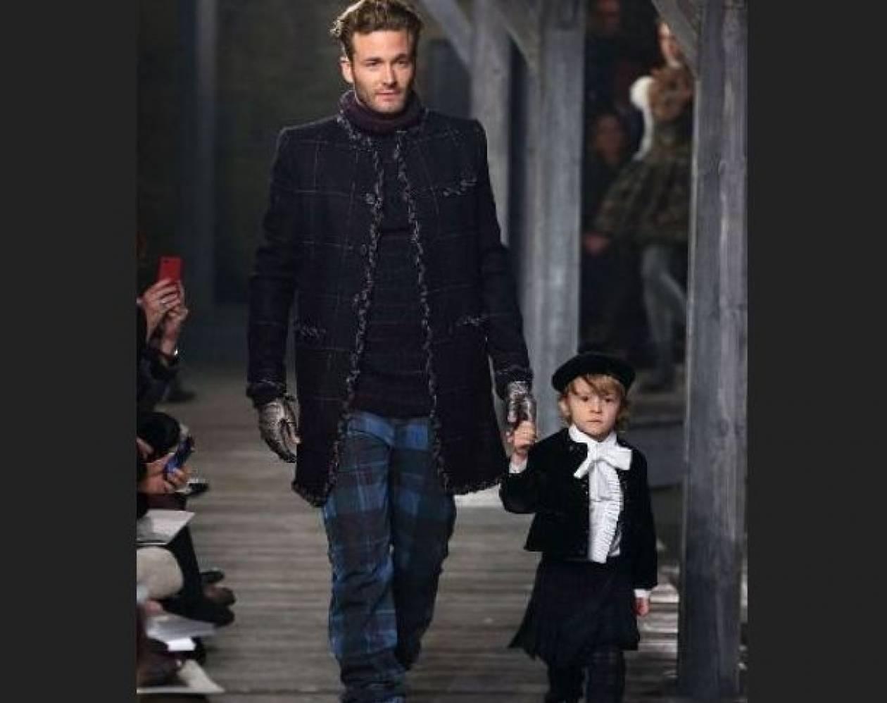 Ο νέος «μούσσος» του Karl Lagerfeld είναι τεσσάρων ετών