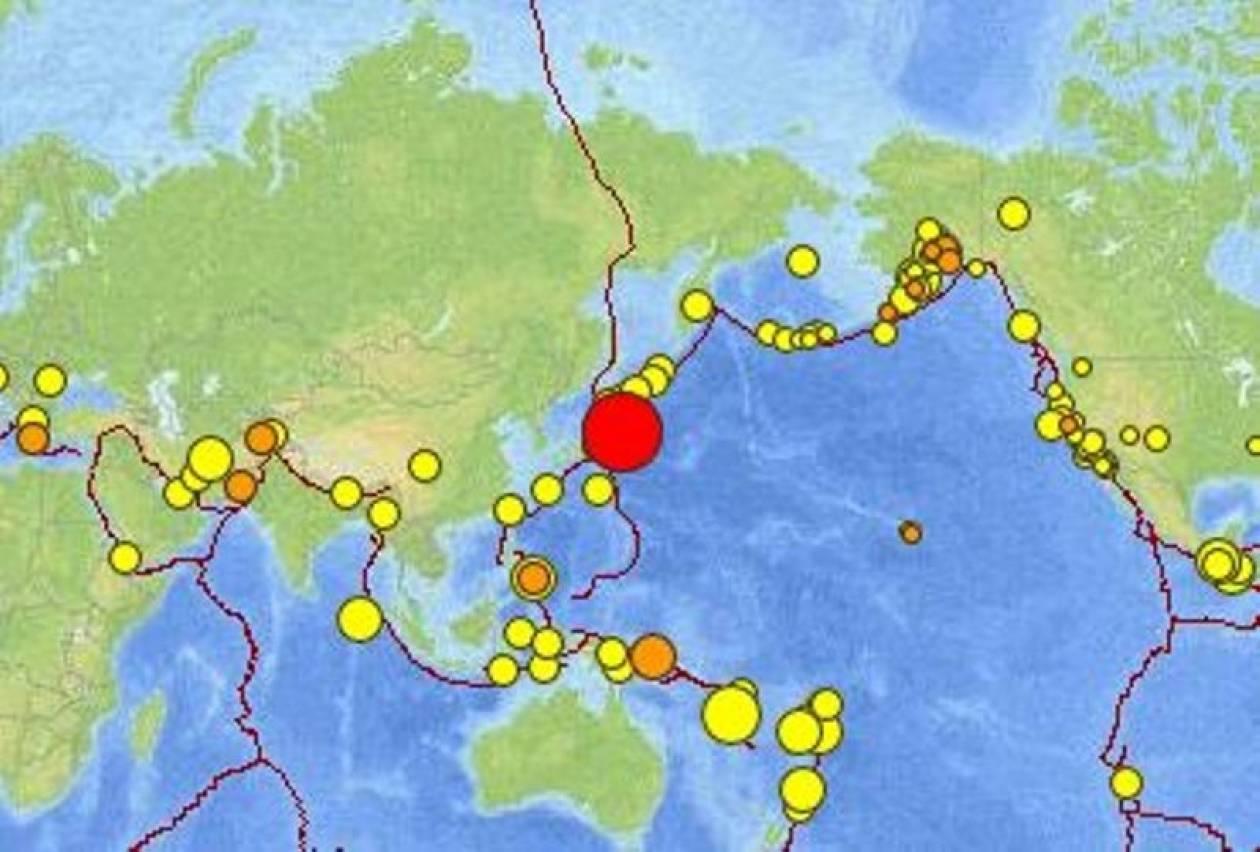 Ισχυρός σεισμός - Κίνδυνος τσουνάμι στην Ιαπωνία