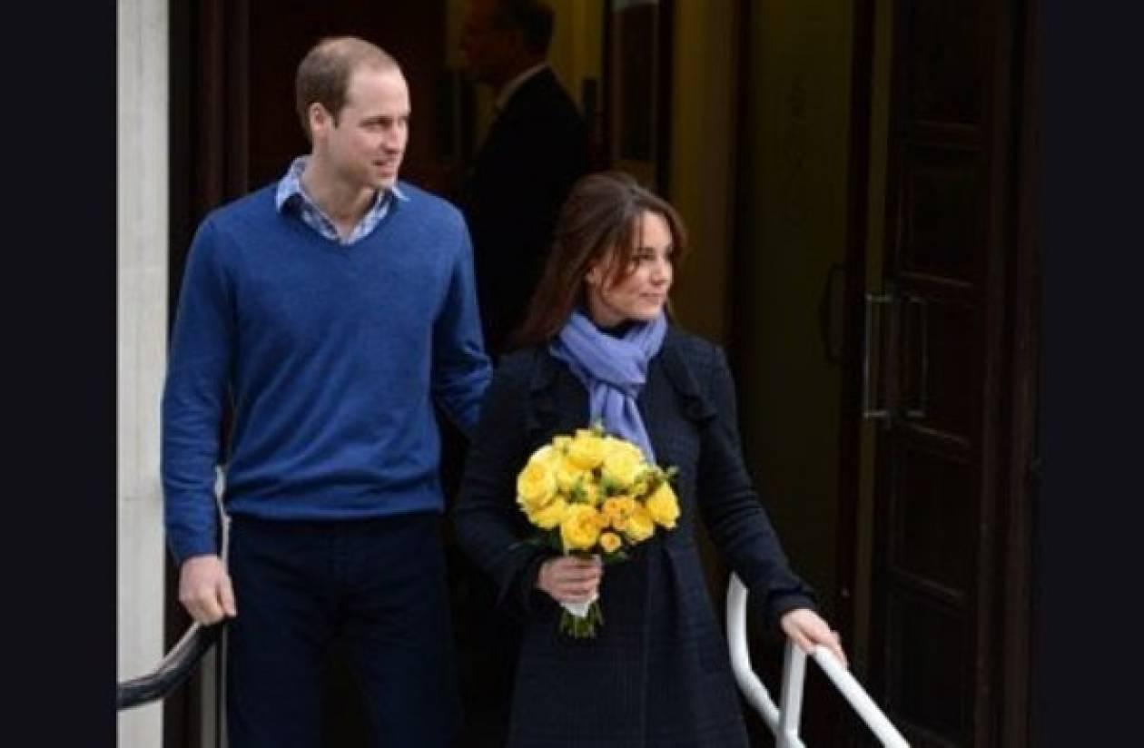 Τι φόρεσε η Kate Middleton κατά την έξοδό της από το νοσοκομείο;