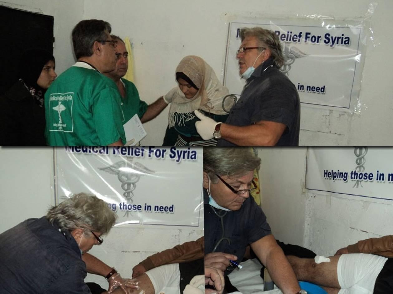 Η συγκλονιστική μαρτυρία Ελλήνων «Γιατρών της Ειρήνης» από τη Συρία