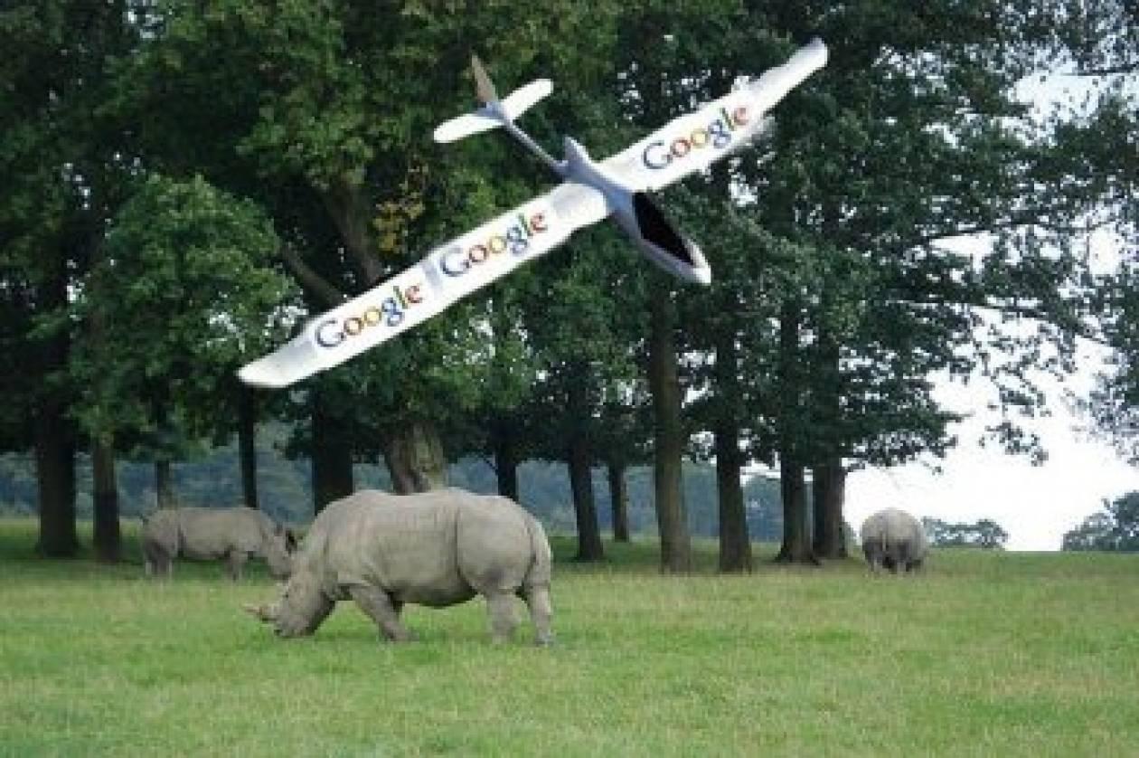 Αεροσκάφη της Google σώζουν άγρια ζώα που βρίσκονται υπό εξαφάνιση