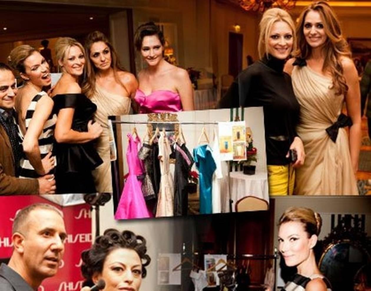 Δείτε αποκλειστικές εικόνες από το fashion show του Βασίλη Ζούλια