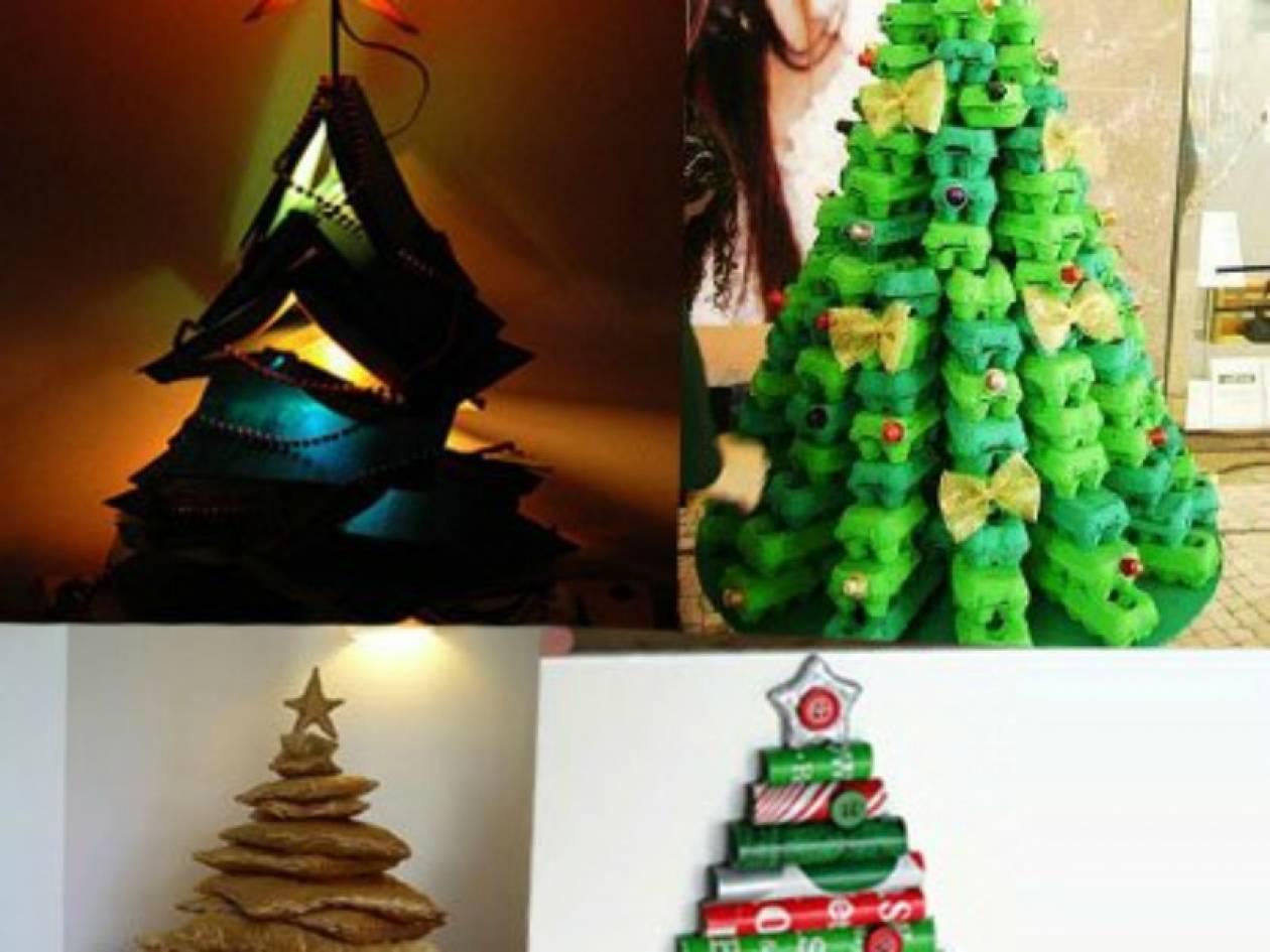 Τα πιο πρωτότυπα χριστουγεννιάτικα δέντρα