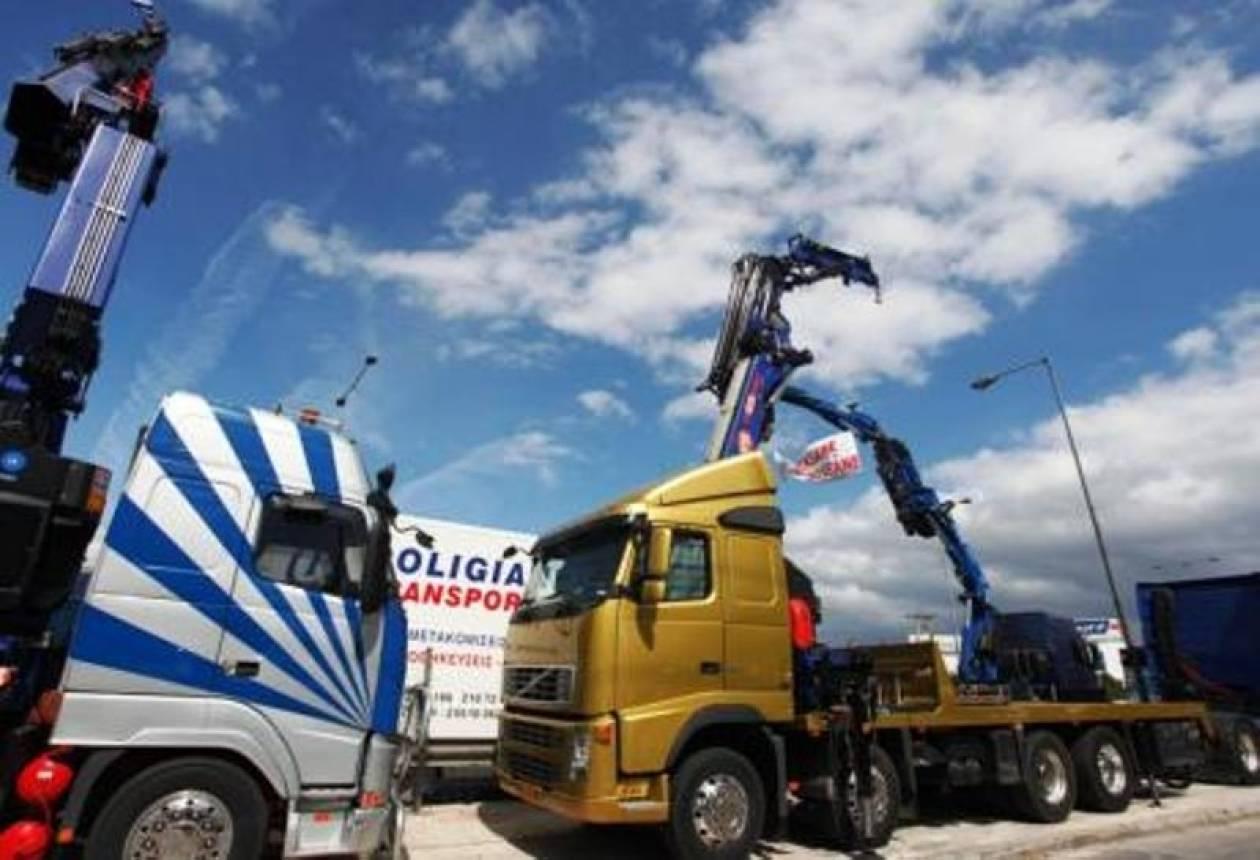 Αναστέλλουν τις κινητοποιήσεις τους οι ιδιοκτήτες φορτηγών