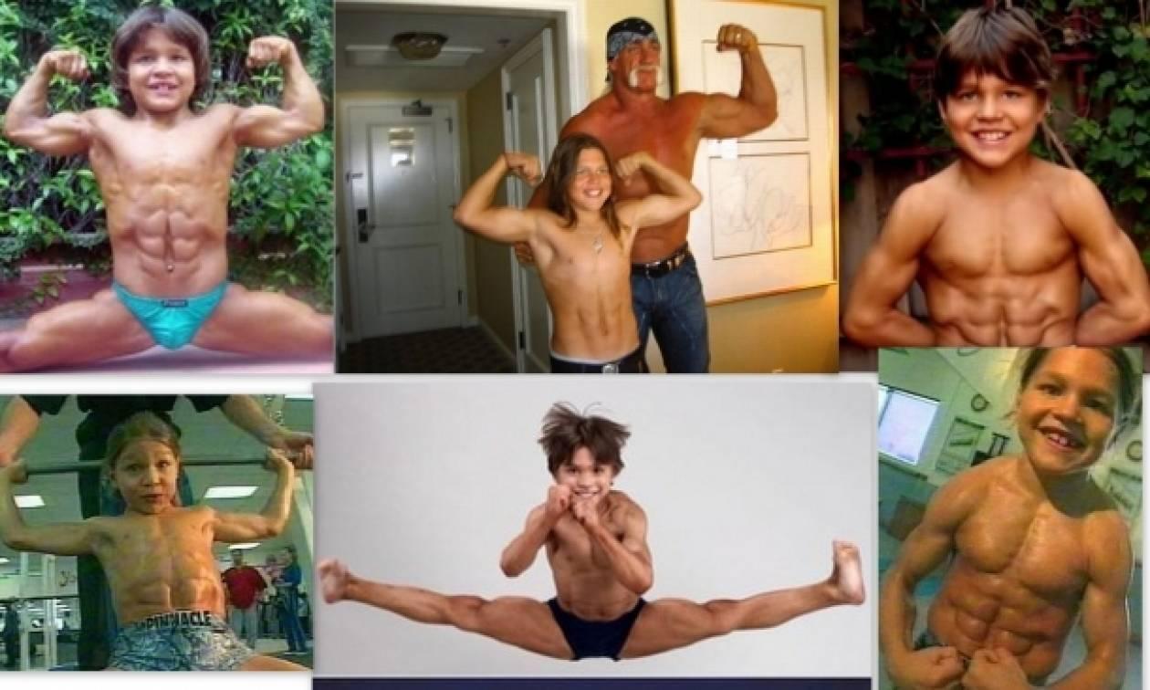 Ο μικρότερος bodybuilder στον κόσμο, ετών… 6!