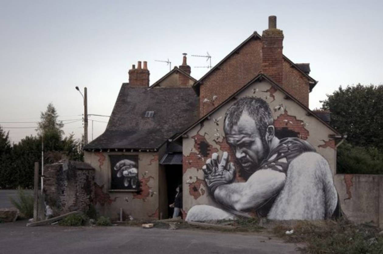 Δείτε γκράφιτι τεραστίων διαστάσεων!