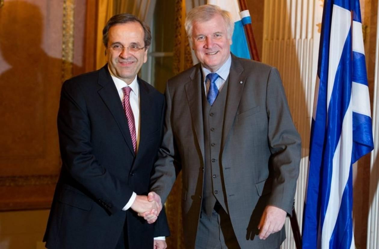 Ικανοποίηση Σαμαρά από τη διαδικασία επαναγοράς του ελληνικού χρέους