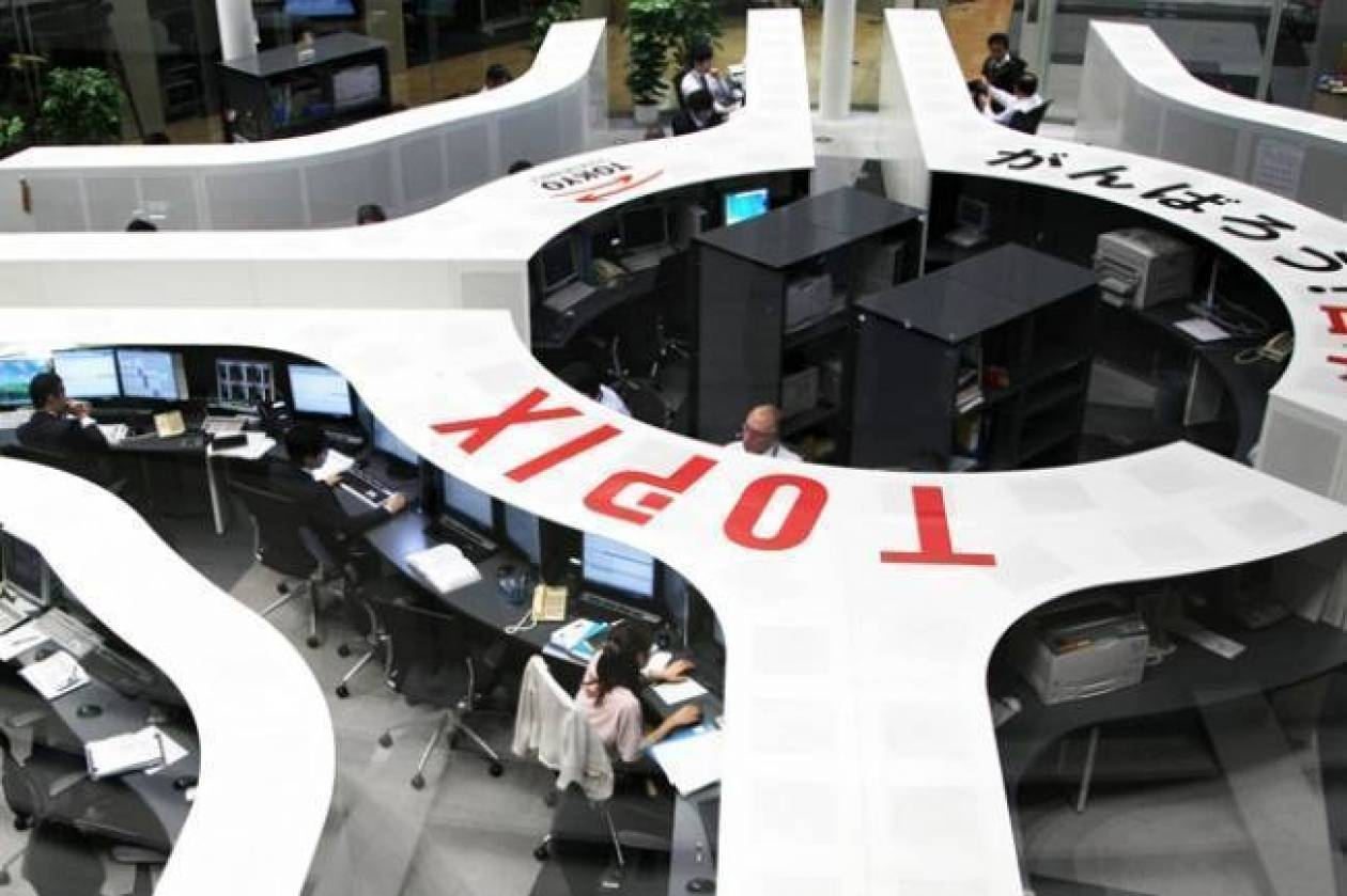 Aνοδικό το κλείσιμο του Nikkei