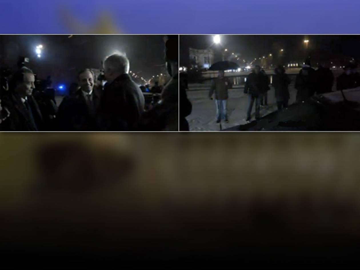 Βίντεο: Τα... άκουσε από ομογενείς στο Μόναχο ο Σαμαράς