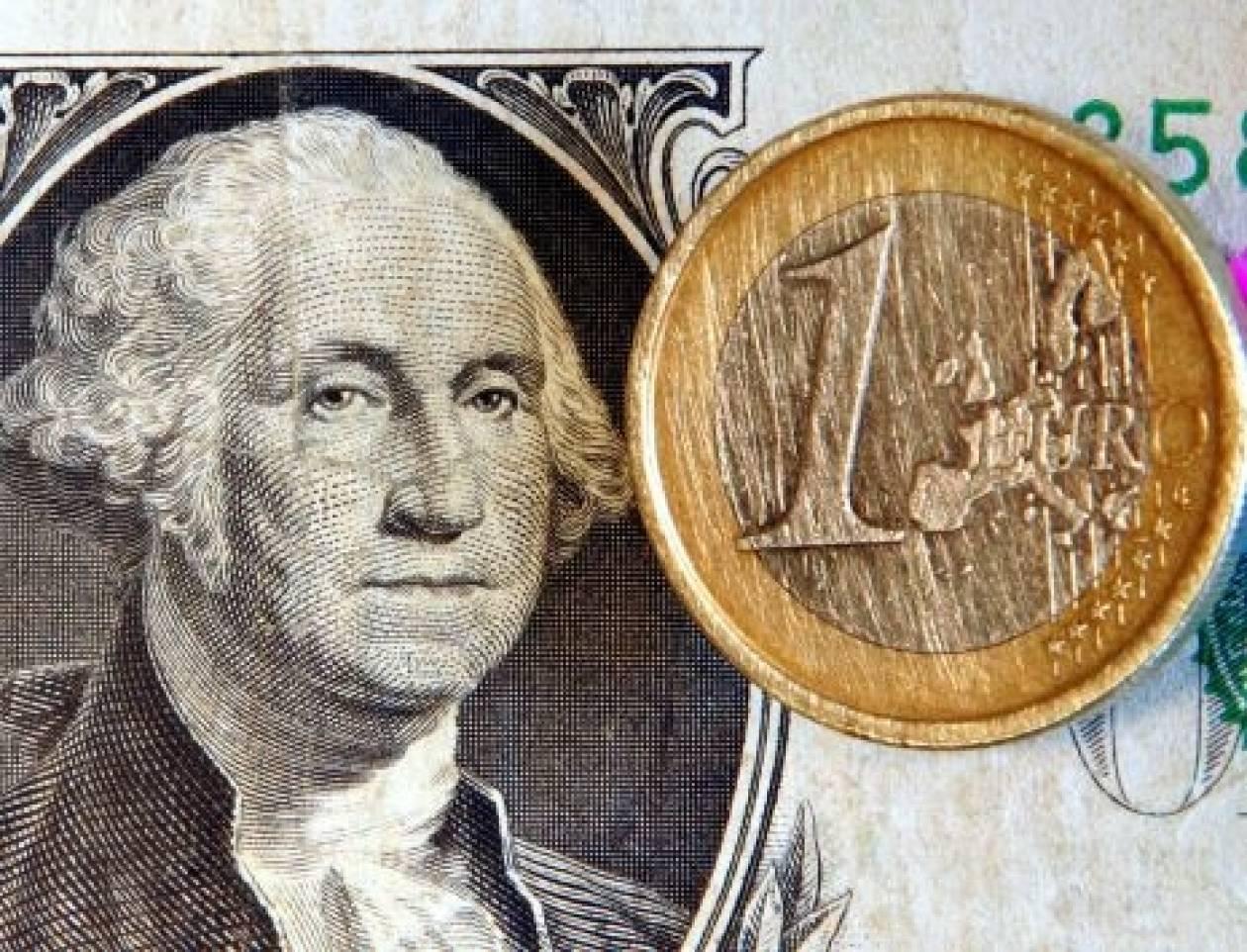 Το ευρώ διαμορφώνεται στα 1,2906 δολάρια