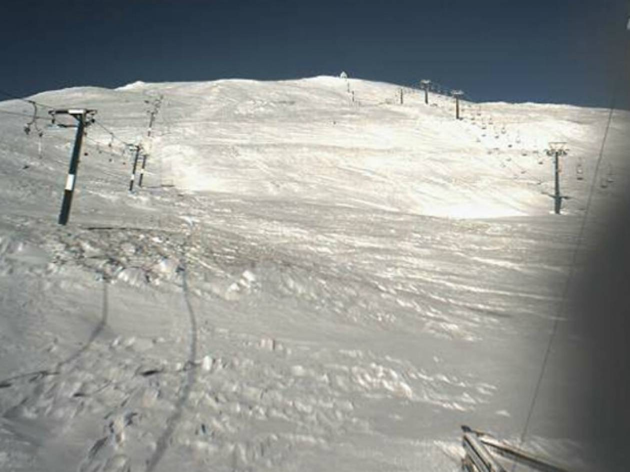 Δείτε live εικόνα από τα χιονοδρομικά της χώρας