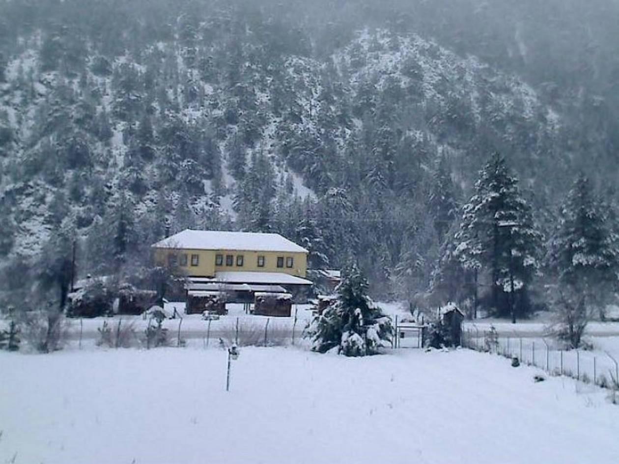 Δείτε live εικόνα από τα χιονισμένα χωριά της Ελλάδας!