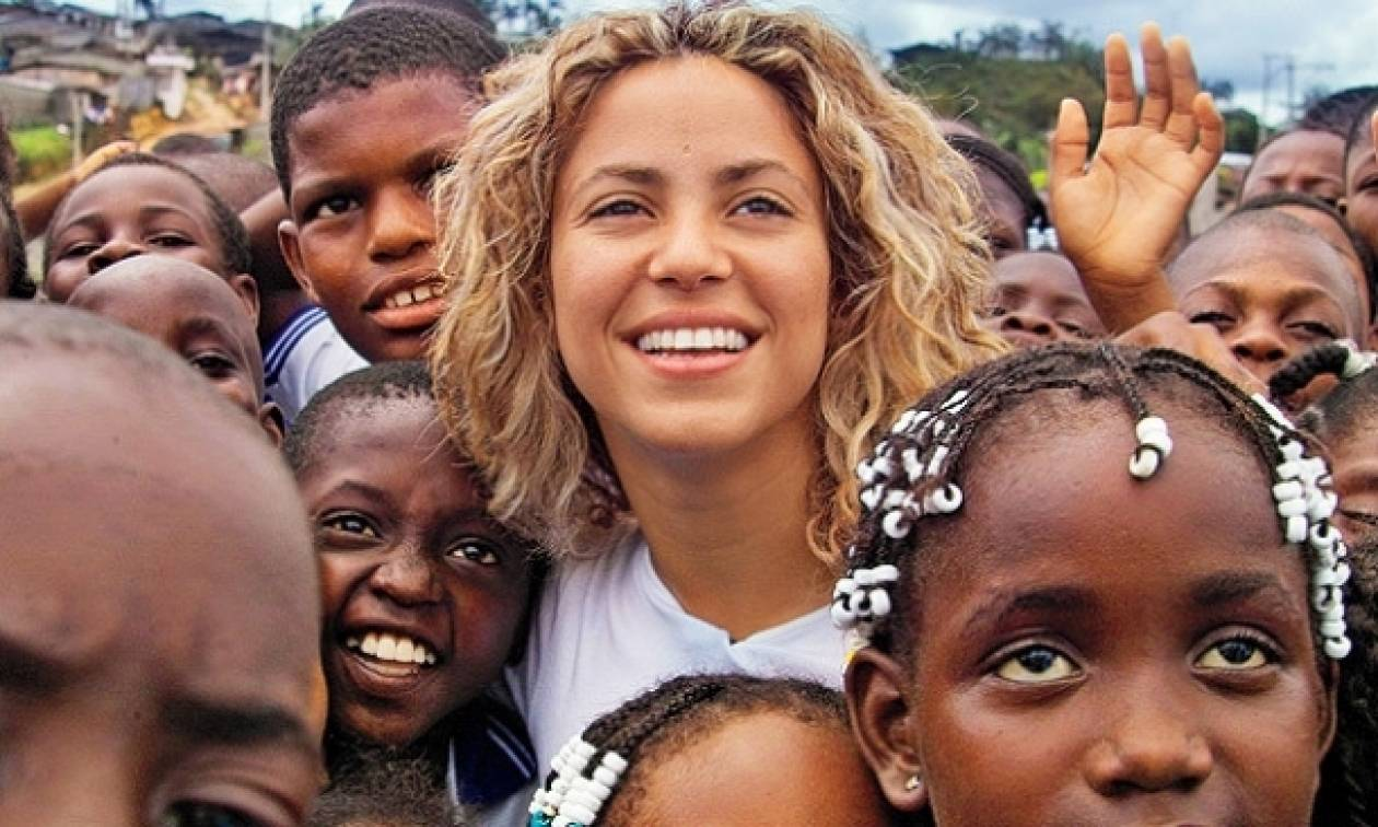 Το ίδρυμα της Shakira ανοίγει το ένατο σχολείο του στην Κολομβία