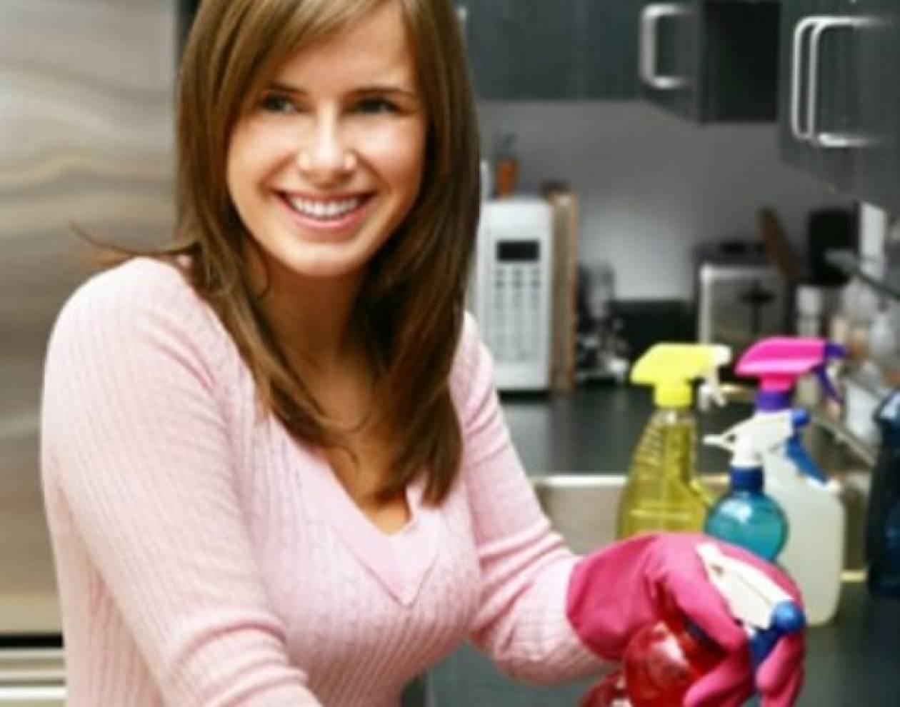 Καθαρίζοντας το σπίτι οικονομικά!