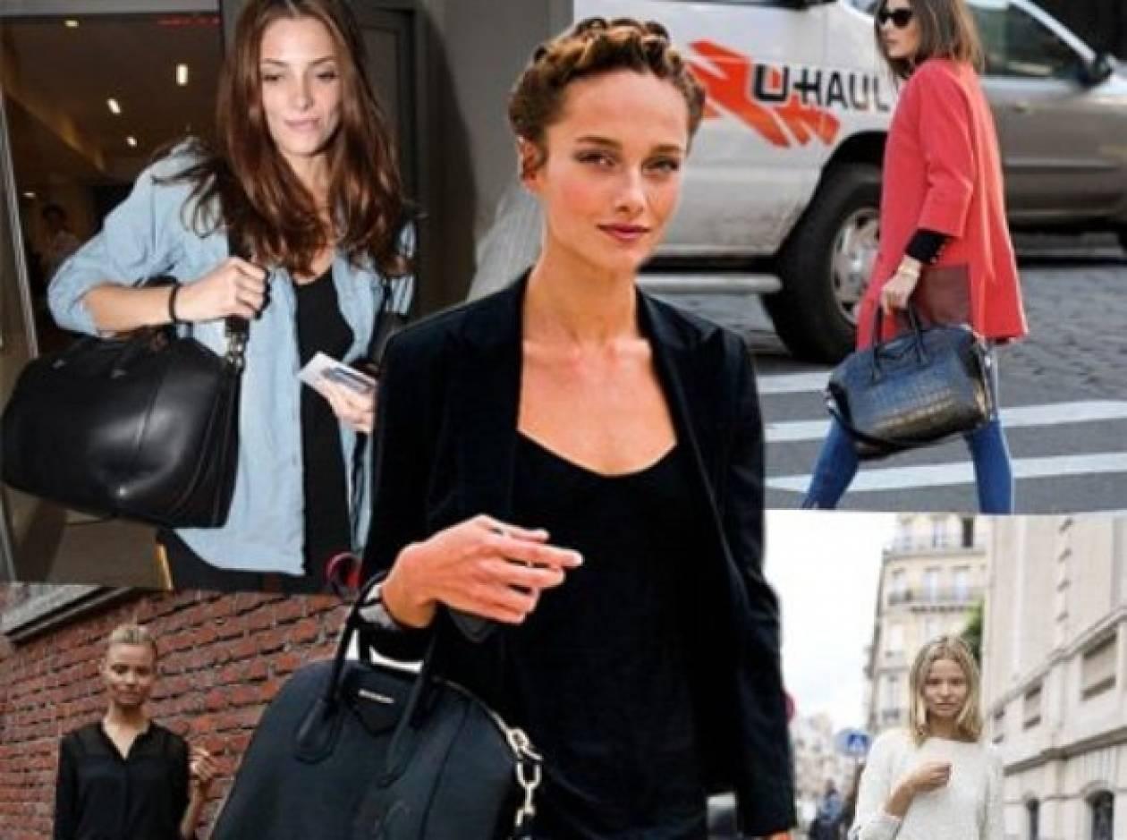 Givenchy «Antigona»: η τσάντα που λάτρεψαν τα μοντέλα
